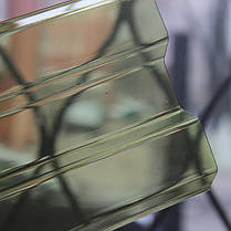 Желтый прозрачный шифер Ондекс 2,5*1,09м, фото 3