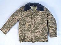 """Теплий армійський камуфльований бушлат """"Піксель"""" , фото 1"""