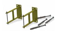 Комплект креплений для гидравлических стрелок