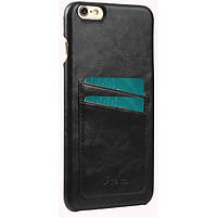 Чехол Melkco iPhone 6 Plus - M PU Leather Dual Card Black