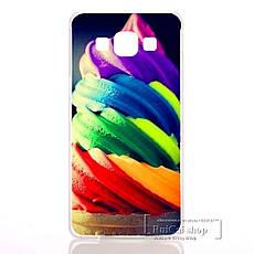 Чохол для Samsung Galax A7/A700 з картинкою Лимони з льодом, фото 3