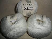 Gazzal Baby Wool XL (Газзал Беби Вул XL)  801 белый