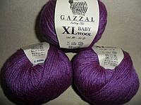 Gazzal Baby Wool XL (Газзал Беби Вул XL) 815 фиолетовый