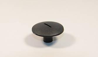 Клипса крепления передних подкрылков (чёрная с прорезью) на Renault Trafic 2001-> — RENAULT 7703081054