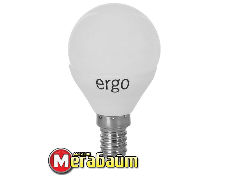 LED лампа Ergo Standard G45 Е14 4W 220V 3000K Теплый белый