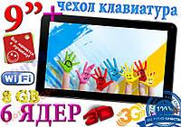Samsung TAB95, 6 ЯДЕР 8GB+ЧЕХОЛ КЛАВИАТУРА NEW