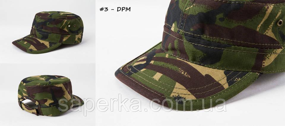 Кепка военная камуфляжная  DPM/ДПМ