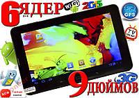 НОВЫЙ СУПЕР ПЛАНШЕТ ТЕЛЕФОН Lenovo 9! 6ЯДЕР,3G, 3D
