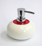 Дозатор жидкого мыла серия Кларк