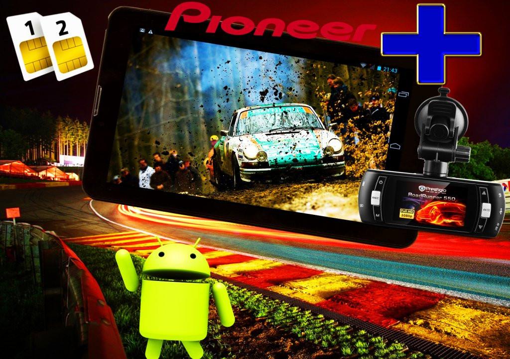 GPS навигатор Pioneer Z30 +ВИДЕОРЕГИСТРАТОР NEW