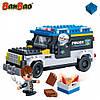 Конструктор BANBAO 7005 поліція, машина, фігурки, 242 дет., кор., 33-24-7 см