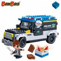 Конструктор BANBAO 7005 поліція, машина, фігурки, 242 дет., кор., 33-24-7 см, фото 1