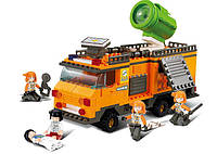 Конструктор SLUBAN M38-B0105 рятувальники, машина, фігурки, муз., світло, 268 дет., кор., 33-28,5-6,, фото 1