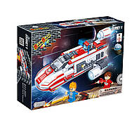 Конструктор BANBAO 6407 космічний корабель, 252 дет., фігурки 2 шт., кор., 33-24-7 см