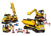 Конструктор SLUBAN M38-B9700 місто, будівництво, транспорт, фігурки, кор.,42,5-33-6,5 см, фото 1