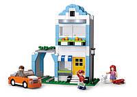 Конструктор SLUBAN M38-B0572 дом, машинка, фигурки, 305дет, в кор-ке, 38-28,5-6,5см, фото 1