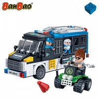 Конструктор BANBAO 7003 поліція, машина, квадроцикл, фігурки, 325 дет.,  кор., 33-24-7 см