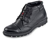 Мужские ботинки зимние МИДА 14657 из натуральной кожи