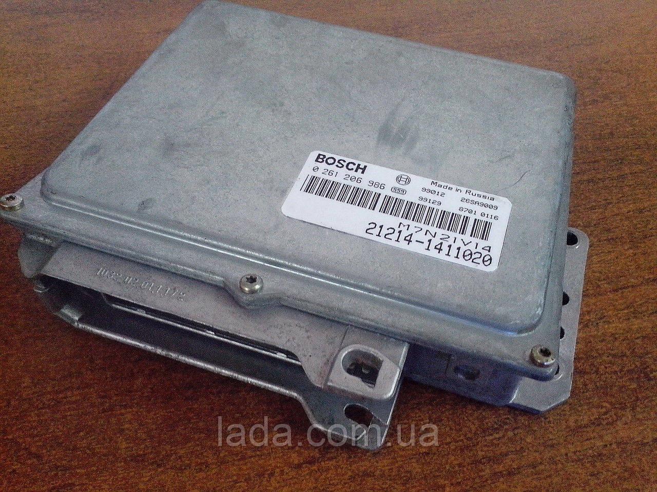 Электронный блок управления ЭБУ Bosch 21214-1411020