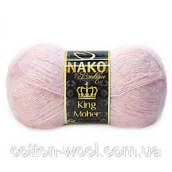 Nako King Moher (Кинг мохер) 10639 50% мохер, 50% премиум акрил