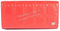 Оригинальный женский классический кошелек с очень качественной кожи  art. V-3801Е красный, фото 1