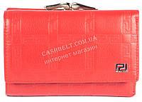 Маленький женский классический кошелек с очень качественной кожи  art. V-3804Е красный, фото 1