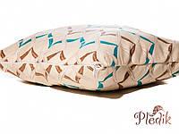 Подушка декоративная 40х40 IzziHome Хвиля голубой