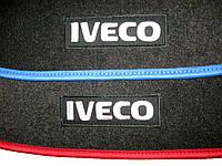 Ковры велюровые на IVECO в наличии и под заказ