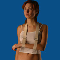 Бандаж для руки поддерживающий (ременная повязка)
