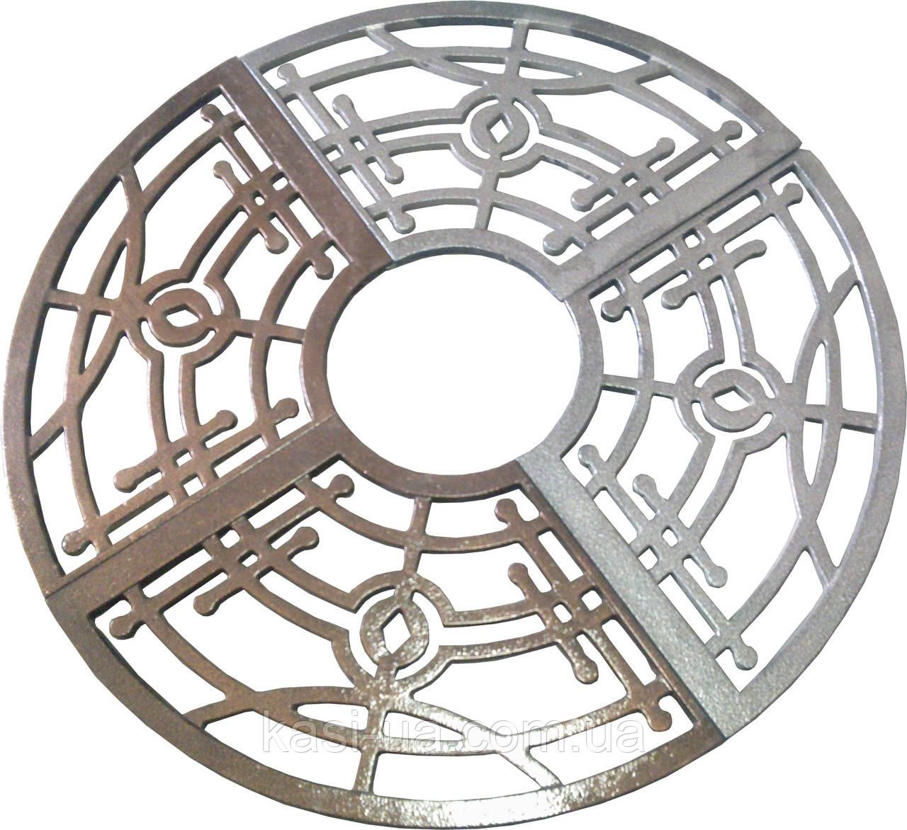 Приствольная решетка чугунная круглая №2