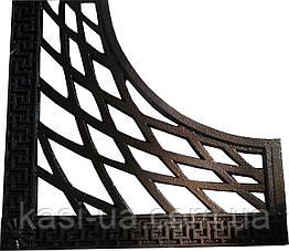 Приствольная решетка чугунная квадратная №3