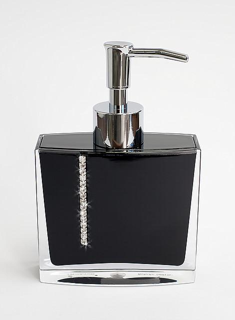 Дозатор жидкого мыла Рома цвет черный 14710  PRIMA NOVA