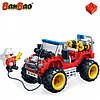 Конструктор BANBAO 7106 пожежна машина, фігурка, 148 дет., кор., 28-19-5,5 см