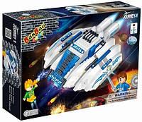 Конструктор BANBAO 6408 космічний корабель, 252 дет., фігурки 2 шт., кор., 33-24-7 см