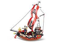 Конструктор SLUBAN M38-B0127 пірати, корабль, 379 дет., кор., 47,5-38-8 см, фото 1