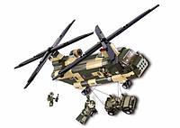 Конструктор SLUBAN M38 B 0508 Армія, техніка, 520дет., фігурка, кор.,42,5-38-8 см, фото 1