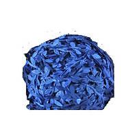 Лента Лиана с листиками Синяя 1.7 см Плющ 1 м/уп