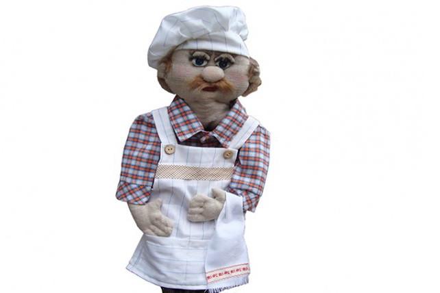 Кукла - пакетница Шеф Повар