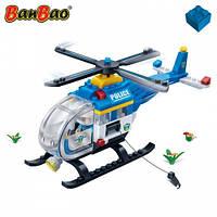 Конструктор BANBAO 7008 поліція, гелікоптер, фігурка, 122 дет.,  кор., 28-19-5,5 см, фото 1