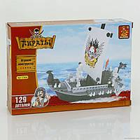 Конструктор AUSINI 27404 Корабль пиратов, 125 дет, уровень сложности **, в кор-ке, 22*15*4,5 см