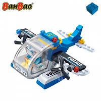 Конструктор BANBAO 7009 поліція, літак, фігурка, 112 дет.,  кор., 23-15-5 см, фото 1