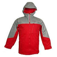 Куртка для мальчиков DOUBLE GRAB™ JACKET красно-серая SB1103 613