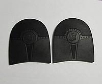 """Формованные резиновые набойки для обуви""""Башмачник"""", черн.,т.7мм."""