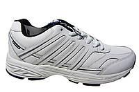 Мужские кроссовки Bona, натуральная кожа, белый, Р. 44 45