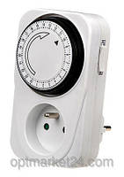 Розетка с таймером Programmer timer (включения и отключения тока по расписанию) Автоматическая , фото 1