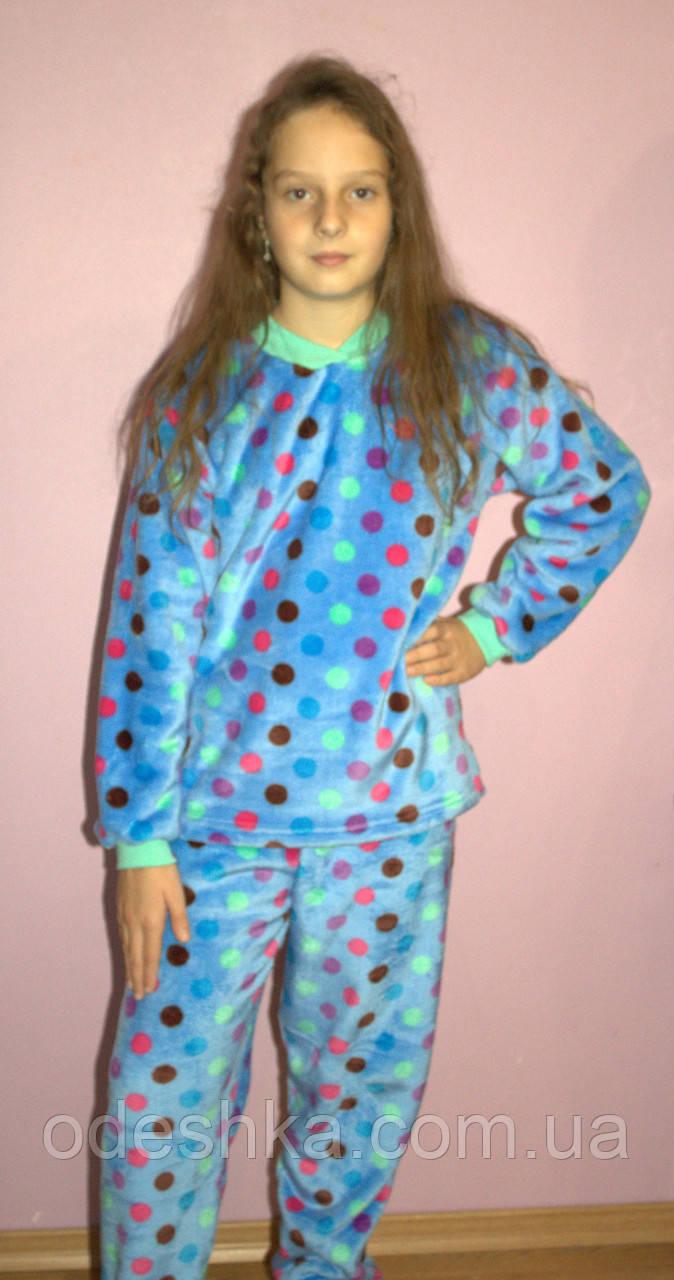 d976bbfa9fa34 Подростковая махровая пижама