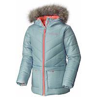 Куртка для девочек Columbia KATELYN CREST™ MID JACKET серо-бирюзовая WG1484 325