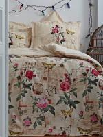 Постельное белье Karaca Home Vanessa евро размера