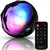 Святящийся музыкальный шар Color Ball Speaker Q8 Bluetooth, колонка стерео с пультом Bluetooth и USB-плеером
