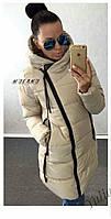 Зимняя куртка парка женская с капюшоном - 6 цветов!